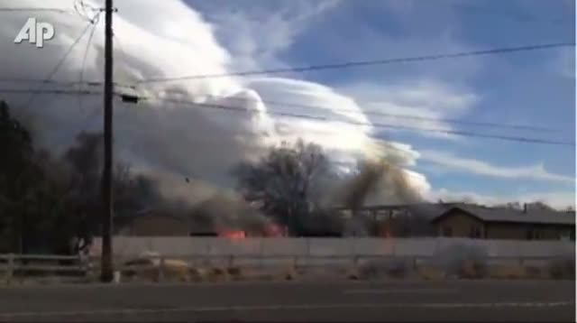 4,000 Evacuated As Fire Nears Reno