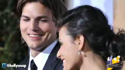 Ashton Kutcher Parites in Brazil While Demi Moore Enters Rehab
