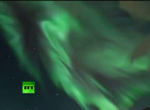 Stunning Northern Lights Video - Norway Aurora after solar storm