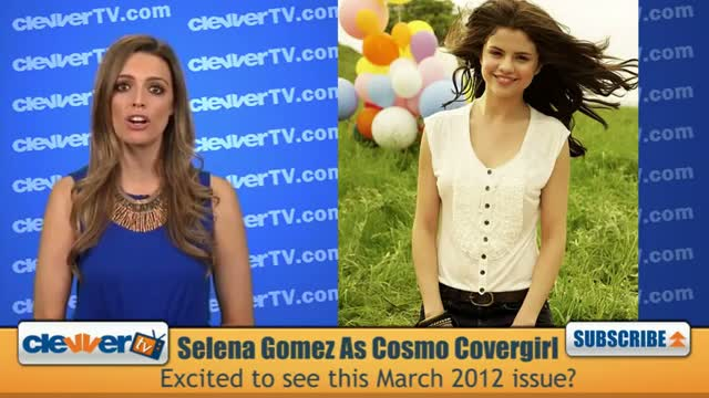 Selena Gomez Covers Cosmo