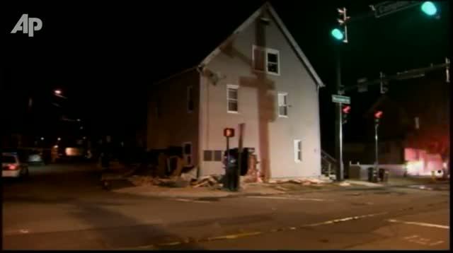 SUV Slams Into Conn. House, Pins Sleeping Man