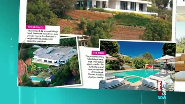 Inside Jen Anistons Love Nest