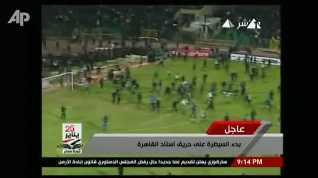 Dozens Dead in Egypt Soccer Violence