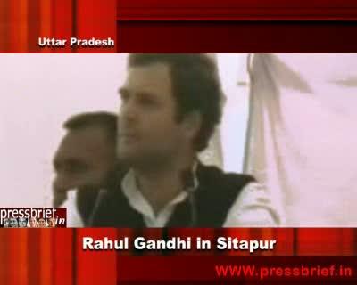 Rahul Gandhi in Sitapur,Uttar Pradesh