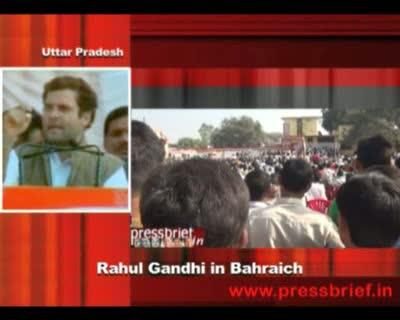 Rahul Gandhi in Bahraich, Uttar Pradesh, 1st February 2012