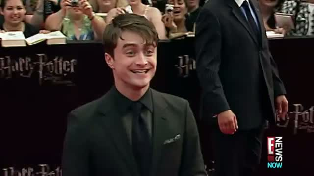 Radcliffe Drunk in Harry Potter