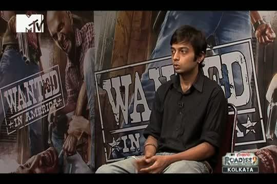 Webisode No 26 - Mayank - Roadies 9 - Kolkata Audition