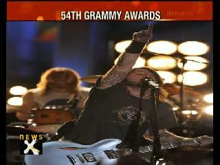 54th Grammy Awards - Adele wins 6 Grammys