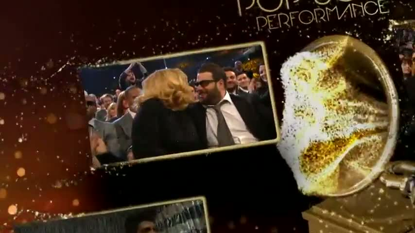 Adele - 54th GRAMMYs on CBS - Best Pop Solo Performance