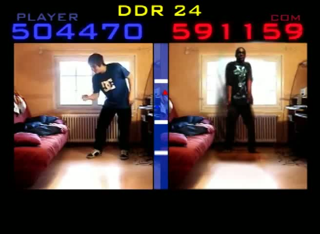 Amazing Dance - Dance Dance Revolution 24 ft Swody (and his bedroom)