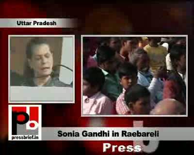 Congress President Sonia Gandhi shared the dias with her daughter Priyanka Gandhi Vadra during a poll rally in her parliament constituency Raebareli. Sonia Gandhi held the 22 yearrs non-Congress rule in U.P responsible for the bad state of affairs in the