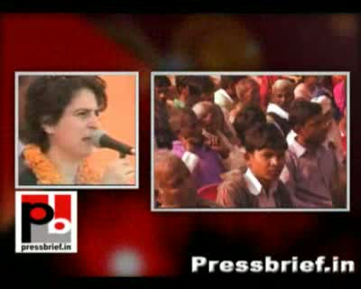 The people have the biggest strength by way of right to vote and you should use it wisely for bringing in changes in Uttar Pradesh said Priyanka Gandhi Vadra while addressing an election meeting at Unchahar, Raebareli. While campaigning for congress in Ra