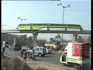 Successful Mumbai monorail trial
