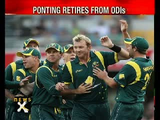 Ricky Ponting Retires from ODIs