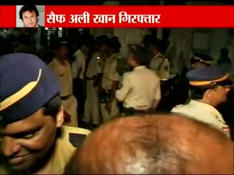 Police arrest Saif Ali Khan for allegedly beating up an NRI businessman Iqbal Sharma