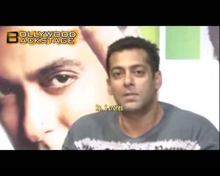 Salman Khan's WHOOPING 8 crore deal
