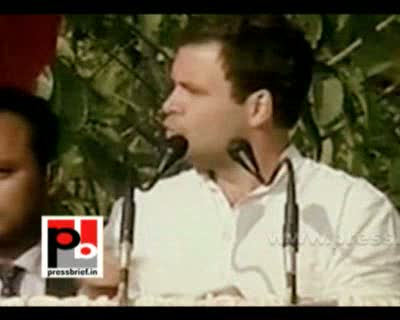 Only the youth can change the state of Uttar Pradesh. I am here to support you said Rahul Gandhi, the Congress General Secretary, while speaking at a big election rally in Kanpur, Uttar Pradesh. After an attractive road show in the city Rahul Gandhi addre
