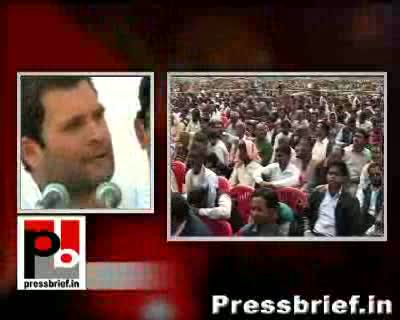 People with pure intention never give toll promises said Congress General Secretary Rahul Gandhi in Moradabad. He was addressing a mammoth election rally in the region as part of his campaign for UP assembly polls.