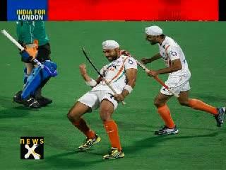 India beat France 8-1, qualify for London Olympics men's hockey