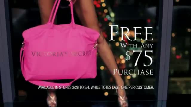 Free Victoria's Secret Limited Edition Getaway Tote