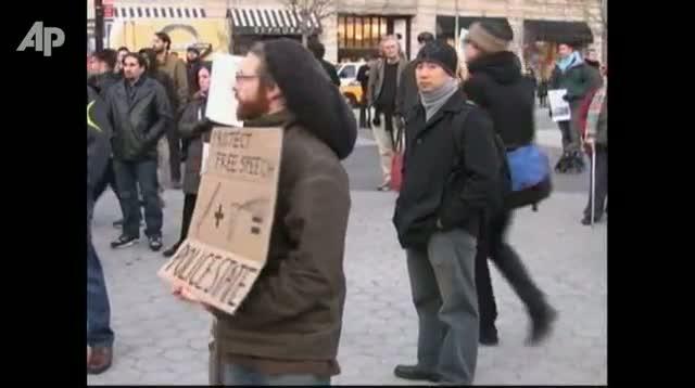 "Raw Video - Sarandon Lauds ""Occupy"" Movement"