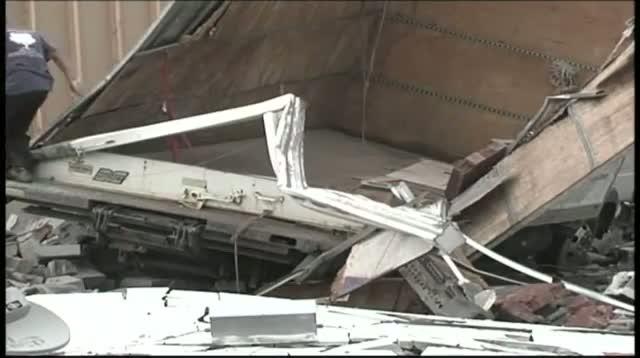Raw Video - Storms Rip Apart Homes in Tenn.