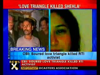 Love triangle killed Shehla Masood