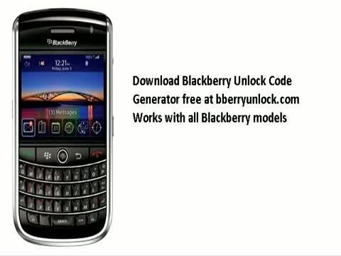 Tmobile blackberry 7100t unlock code