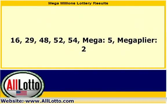 Mega Millions Lottery Drawing Results for March 2, 2012