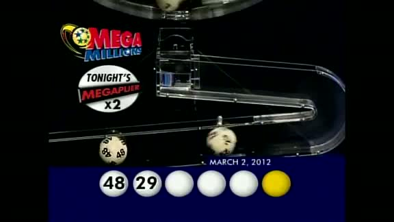Mega Millions Drawing: Friday March 3, 2012