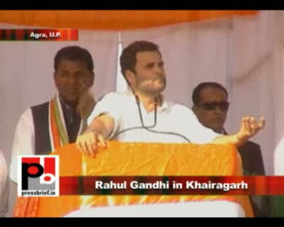 Congress General Secretary Rahul Gandhi said that while all other states are surging ahead the biggest state UP is lagging behind. He was addressing an election meeting in Khairagarh, Agra as part of his election campaign for the ongoing assembly election