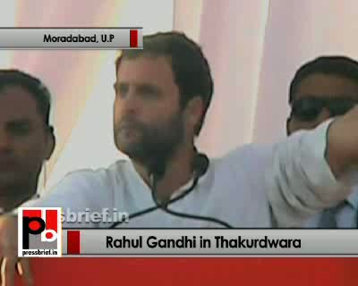 In the past 22 years, the people in UP got only toll promises and as a result the state slipped down while all other states surged ahead, said congress General Secretary Rahul Gandhi while addressing a big election rally in Thakurdwara in Uttar Pradesh as