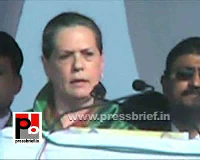 Congress President and UPA Chairperson Sonia Gandhi while addressing a mammoth election rally in Moradabad said that the non-Congress parties - BJP, SP and BSP - follow the divide and rule policy like the British. For the past 22 years parties like BJP, S