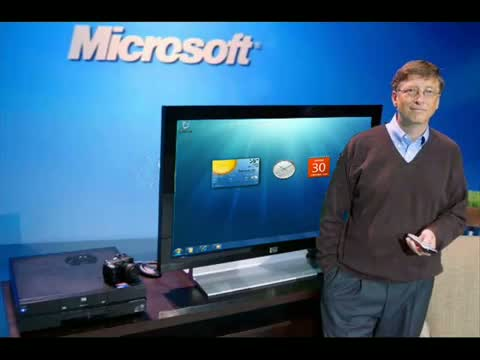 Bill Gates Announces Windows 8