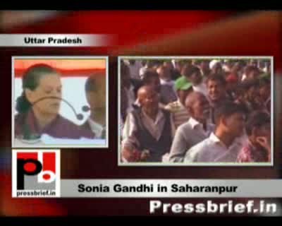 Congress does not cheat people by showering promises said Congress President and UPA Chairperson Sonia Gandhi while speaking at an election meeting in Saharanpur. She held the misrule by the non-Congress rule in the past 22 years for the bad state of affa