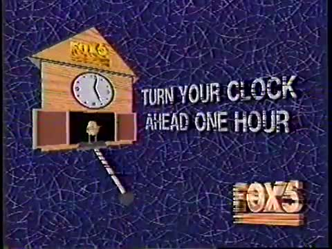 Daylight Savings Reminder 1993