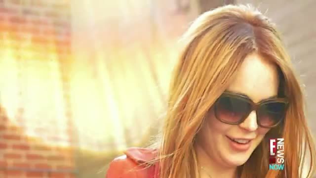 Lindsay Lohan is Back to Red video