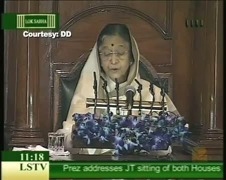 Pratibha Patil delivers last speech of her term