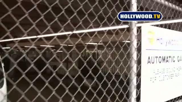 Lindsay Lohan At Hollywood Tow