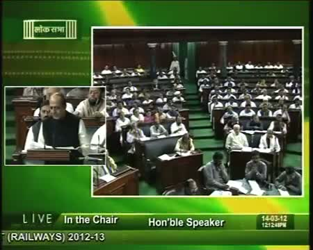 Railway Budget 2012 Trivedi focuses on safety