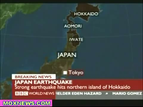 6.8 Earthquake Hits Northern Japan TSUNAMI WARNING ISSUED!