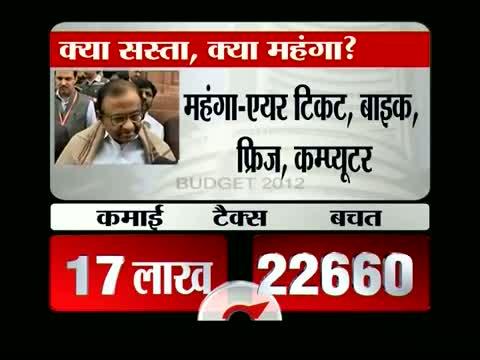 Chidambaram thumbs up Union Budget 2012-13