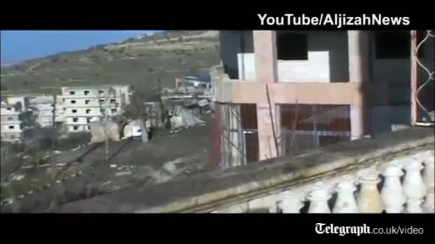 Syrian rebels use IED to attack government tank in Idlib