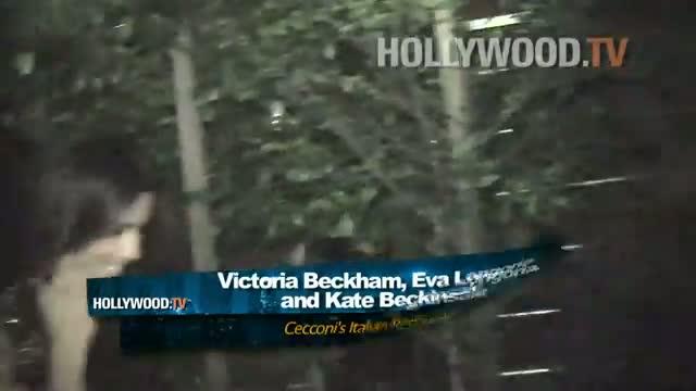 Eva Longoria, Victoria Beckham, Kate Beckinsale celebrate Eva's birthday video