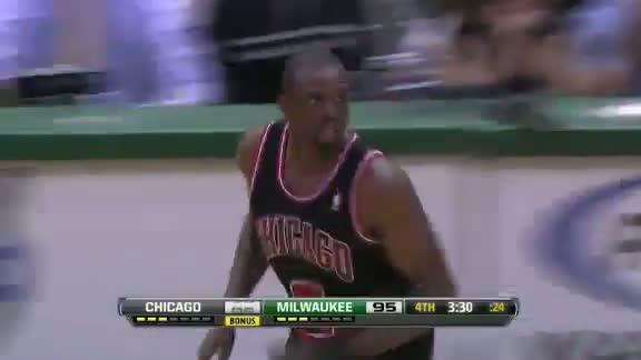 NBA Chicago Bulls Vs Milwaukee Bucks Highlights Mar 7, 2012 Game Recap