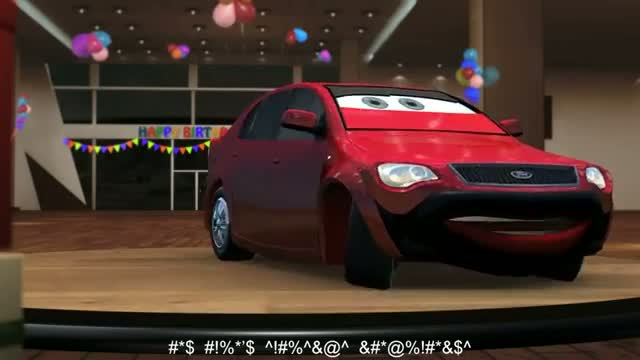 Ford Figo's 2nd Birthday Party Invitation (the TR style) commercial