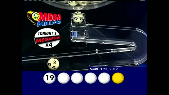 Mega Millions Drawing: Friday, March 23, 2012