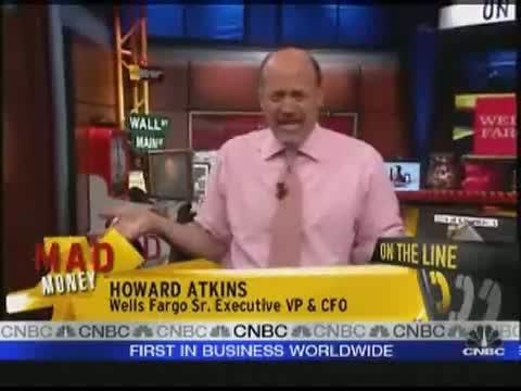 Cramer Interviews Wells Fargo CFO