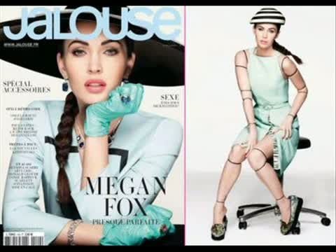 Megan Fox Covers Jalouse April 2012
