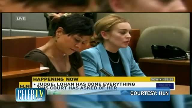 Lindsay Lohan's Probation Ends video